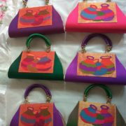 Pure paithani bags