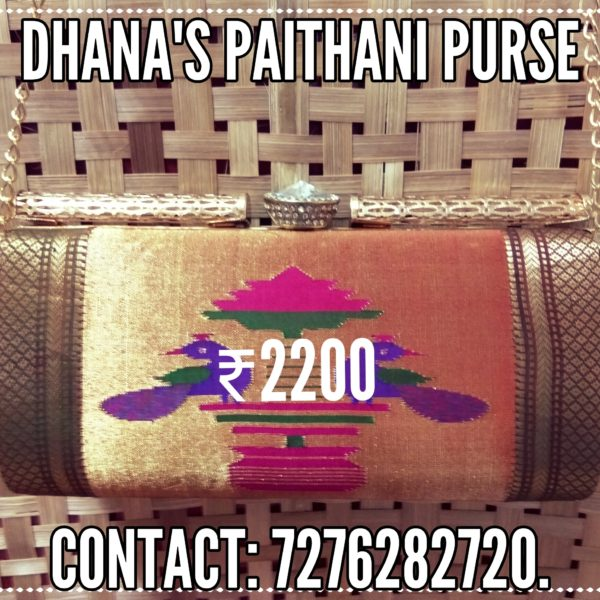 Pure paithani fancy purse 1