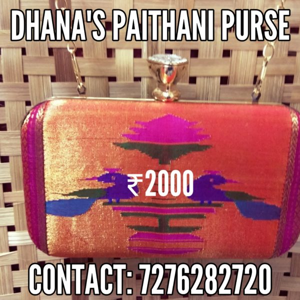 Pure paithani fancy purse 3
