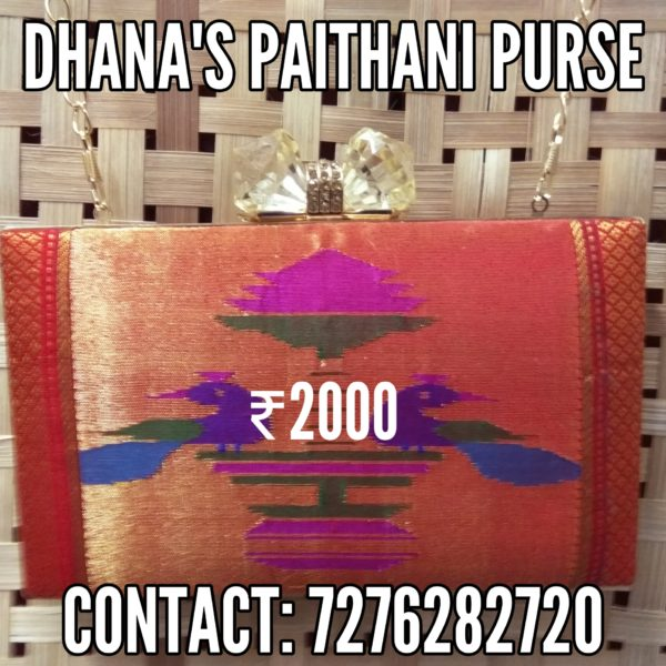 Pure paithani fancy purse 4