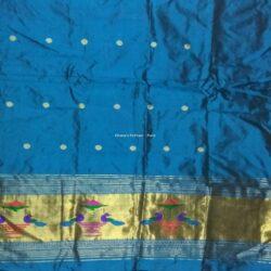 Sky Blue_Paithani_Kurti Material