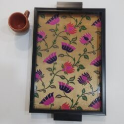 Paithani Large Tray